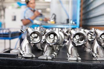 champion compressors used for car parts manufacturing