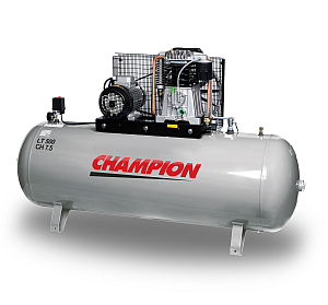 lubricated piston compressor