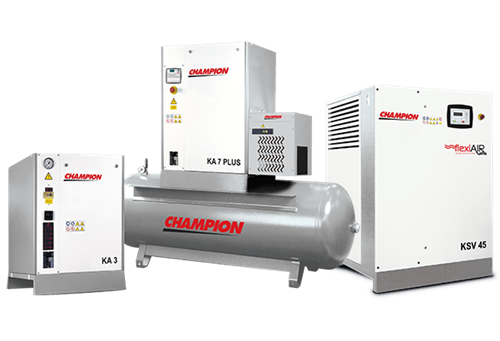 screw compressors products
